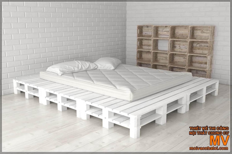 Nội thất giường tủ pallet