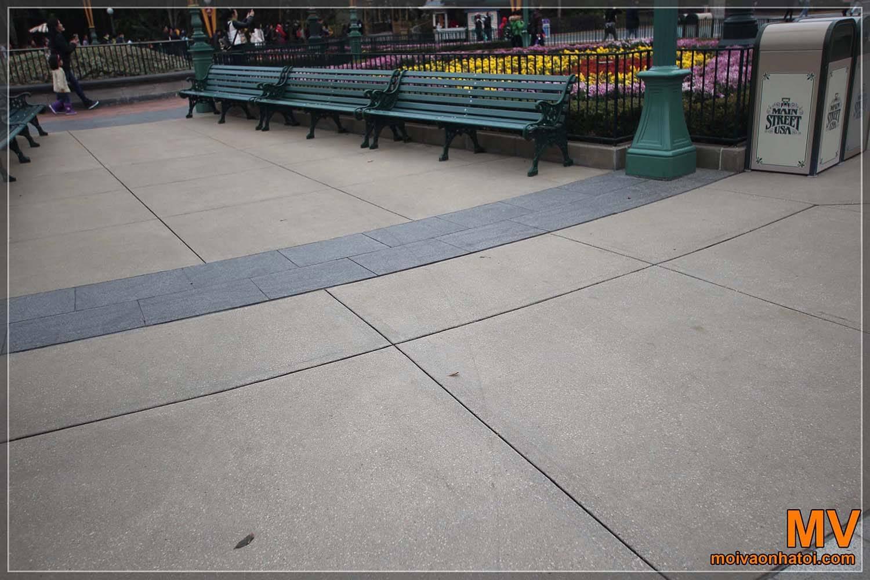 Mẫu gạch lát nền sân vườn, công viên