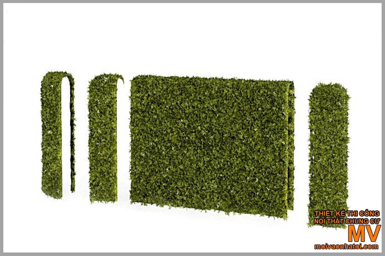 mẫu gạch lát, hàng rào sân vườn