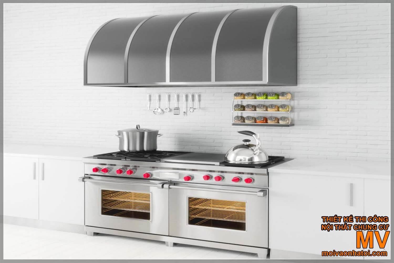 máy hút mùi bếp, bếp công nghiệp