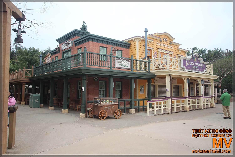 Nhà cổ miền Tây nước Mỹ
