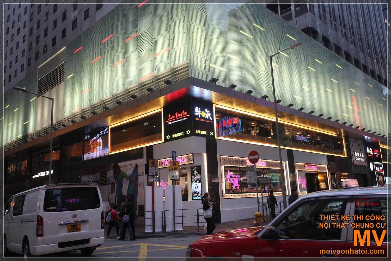 PROJETOS DE PAGAMENTO PARA HOTEL, TRADE CENTER EM HONG KONG