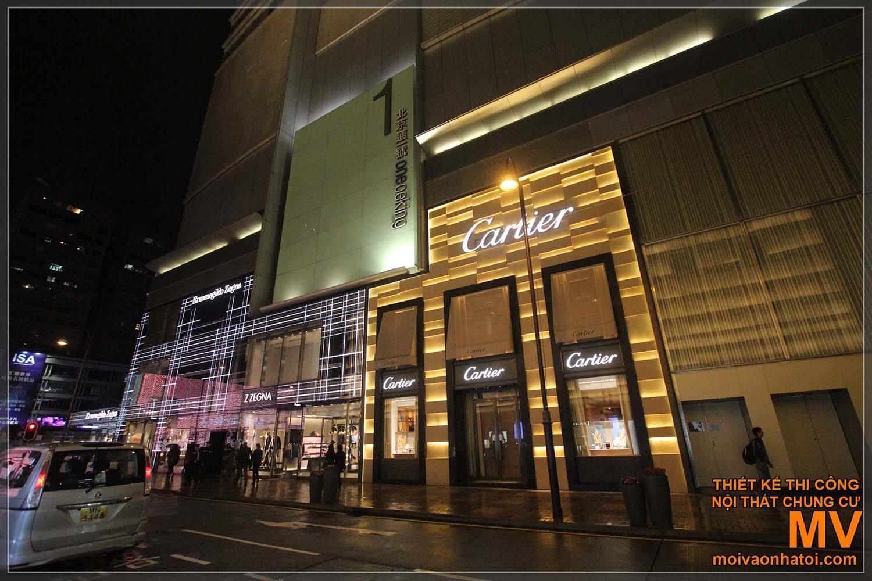 Các thiết kế tiền sảnh trung tâm thương mại đẹp - độc đáo