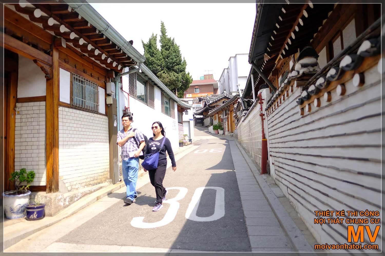 Traditional Korean wooden houses