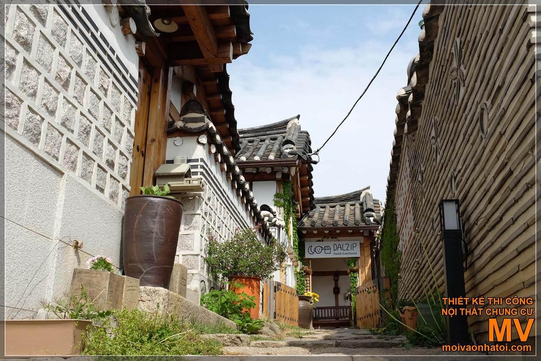 Nhà gỗ cổ truyền thống Hàn Quốc