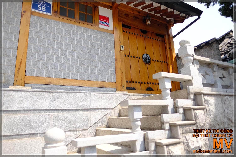Old Korean wooden houses
