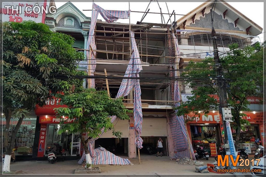 CONSTRUCTION DESIGN IMPROVING TOWNS UNDER MODERN STYLE