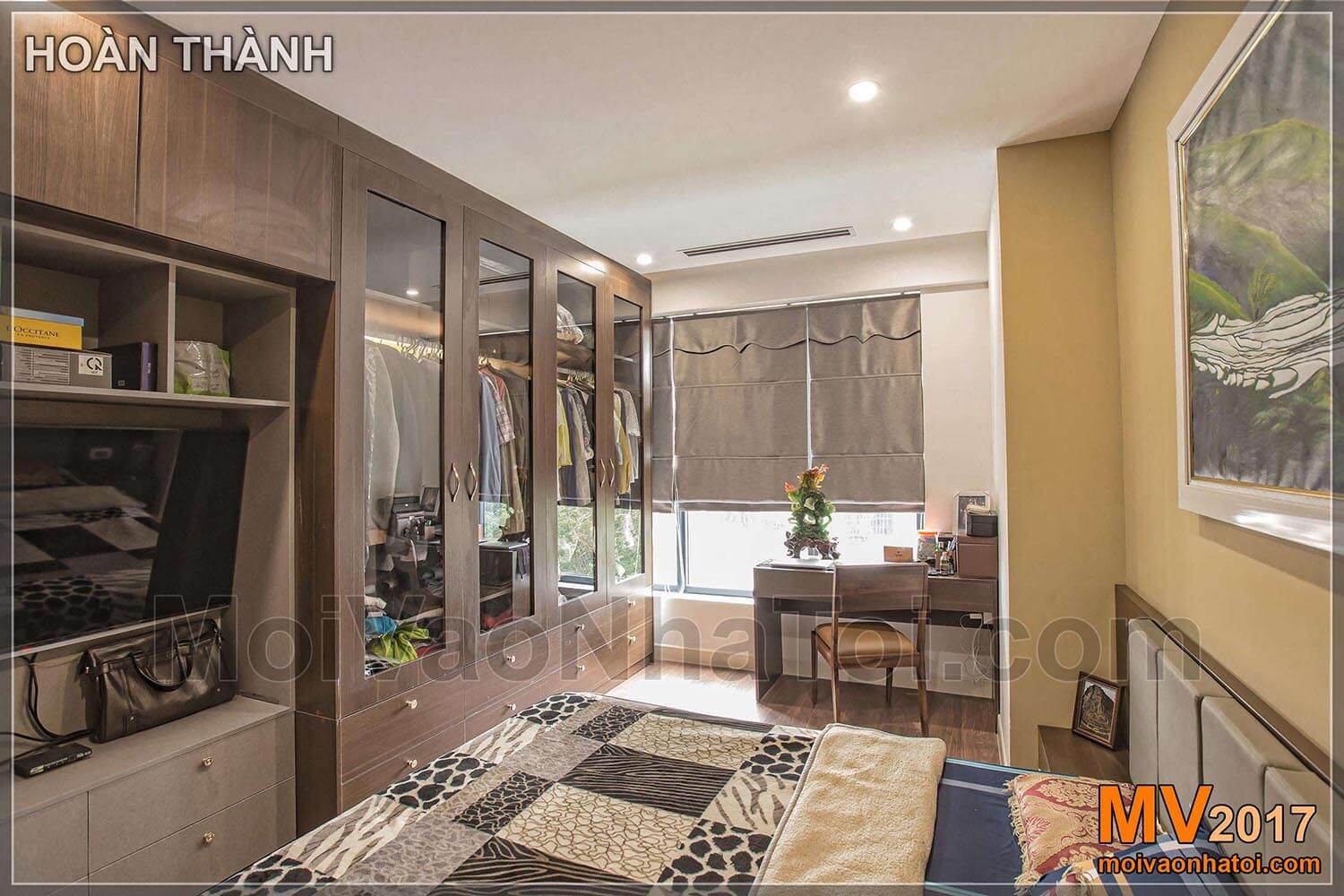 design and construction of the interior of Imperia Garden apartment apartment at 203 Nguyen Huy Tuong