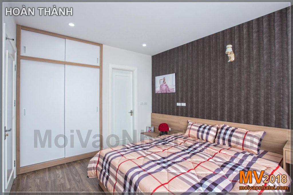 phòng ngủ lớn đơn giản CHUNG CƯ RIVERSIDE GARDEN