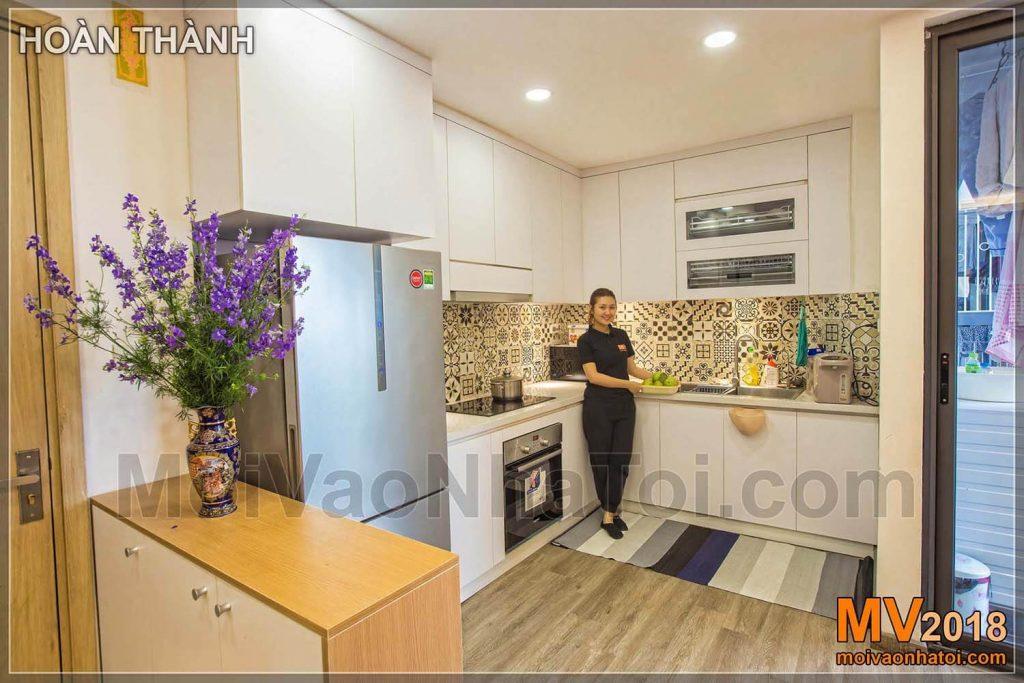 شقة المطبخ في مدينة دانغ زا