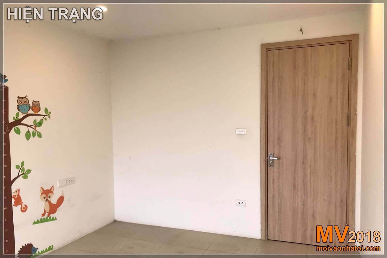 Dang Xa Gia Lam都市のアパートの建物の内部構造設計