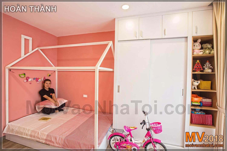 غرفة البنات كاملة Dang Xa Apartment