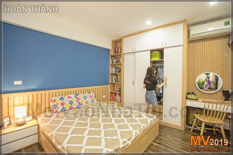 Projeto de apartamento em Linh Dam 80m2