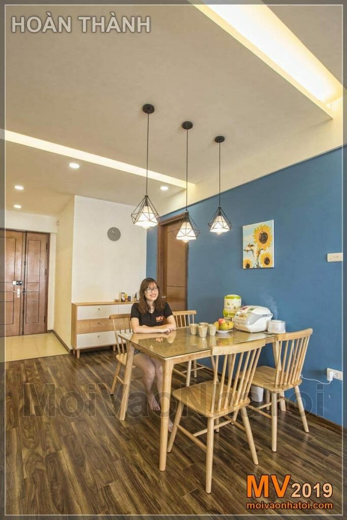 DESIGN AND CONSTRUCTION OF LINH DAM RESIDENTIAL INTERIOR