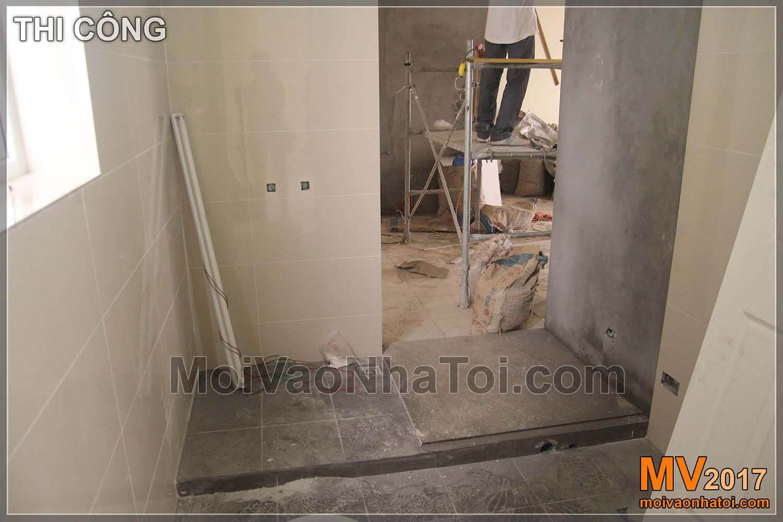 يقوم مرحاض بتجديد شقة 103 Ha Dong