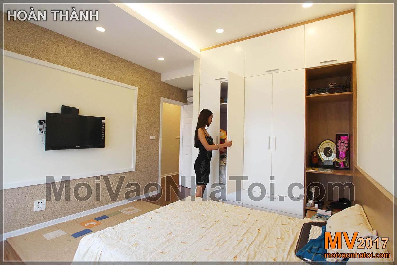 غرفة نوم السيد والسيدة تشونغ كارد المقيم 103