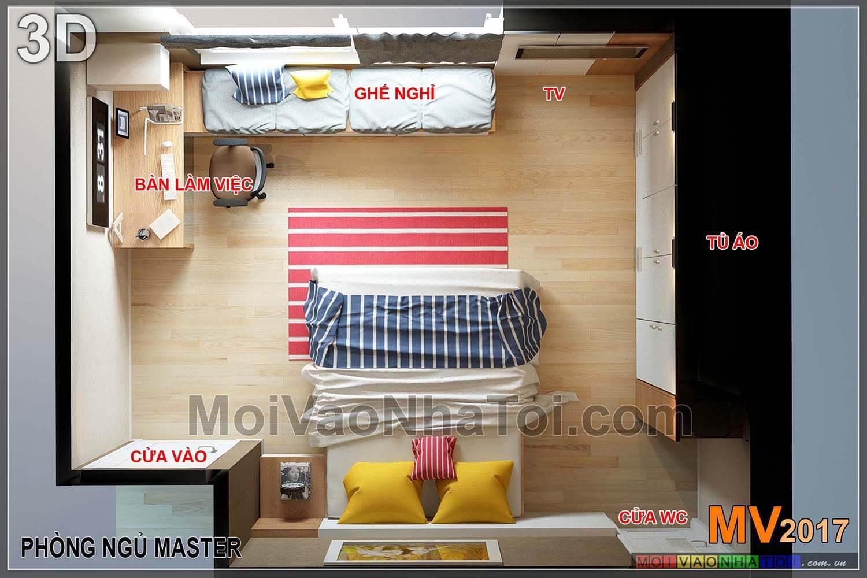 شقة بغرفة نوم ثلاثية GARDEN APARTMENT 103 HA DONG