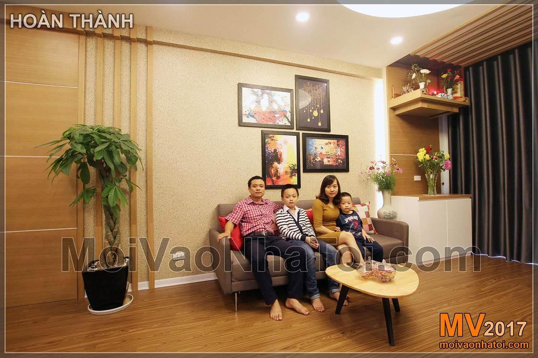 عائلة صغيرة سعيدة شقة عامة 103 ها دونغ