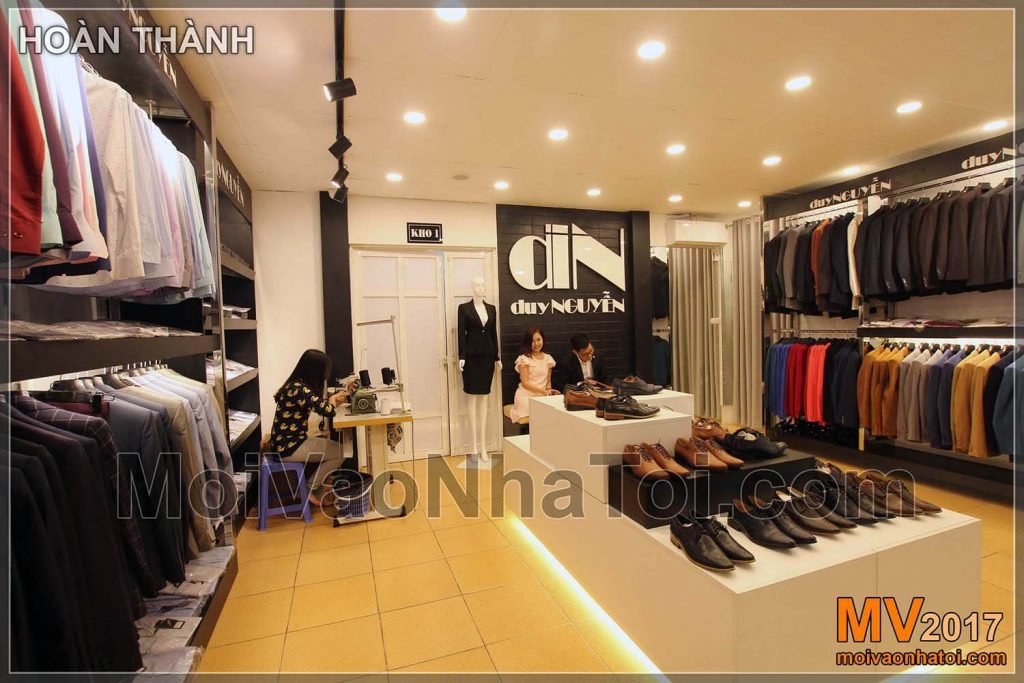Fashion shop design