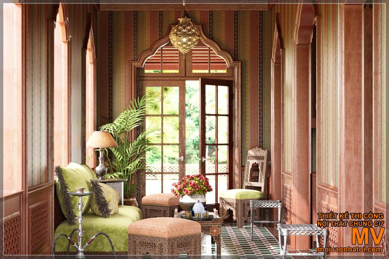 Kiến trúc nội thất phong cách phương đông