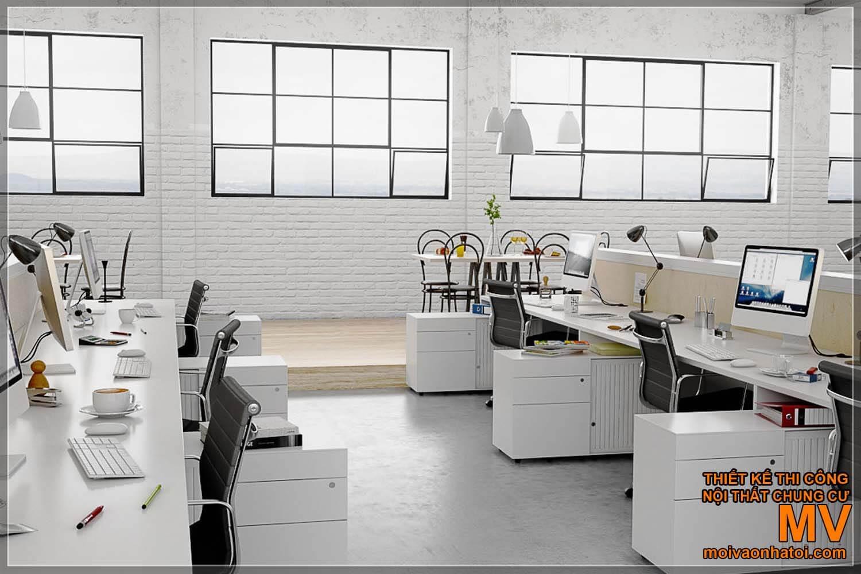 desain ruang kerja