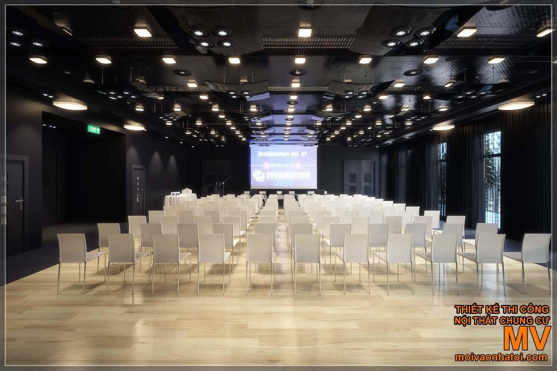 thiết kế phòng hội nghị