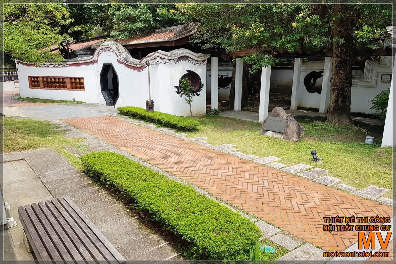 Khuôn viên nhà cổ Trung Quốc