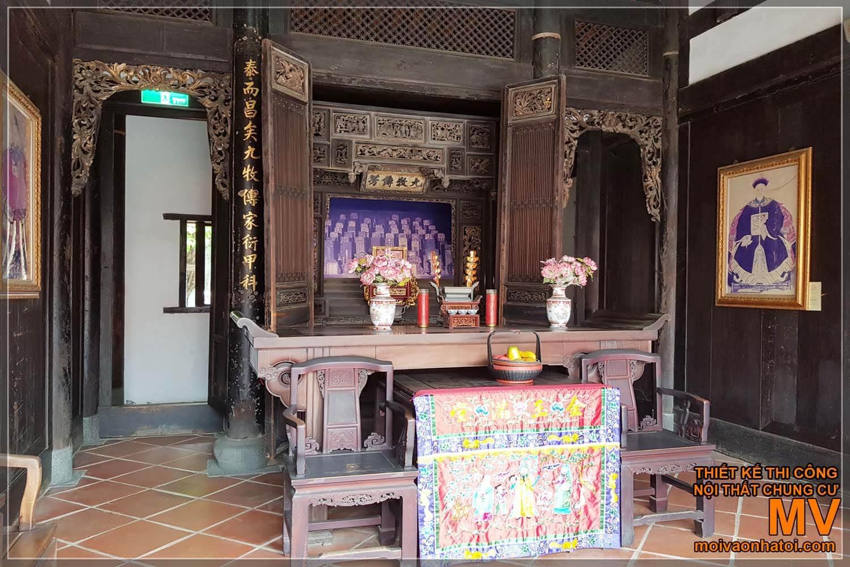 Ban thờ cổ Trung Quốc