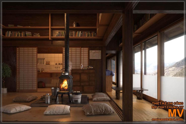 thiết kế nhà gỗ