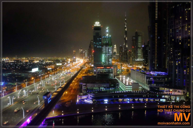 NỘI THẤT KHÁCH SẠN 5 SAO W DUBAI AI HABTOOR CITY