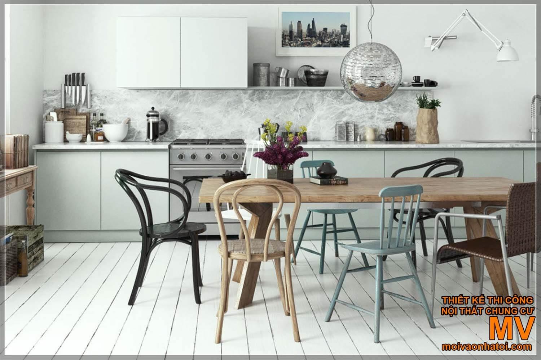 thiết kế nội thất phong cách scandinavian
