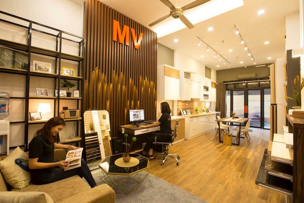 mv showroom invited into my house