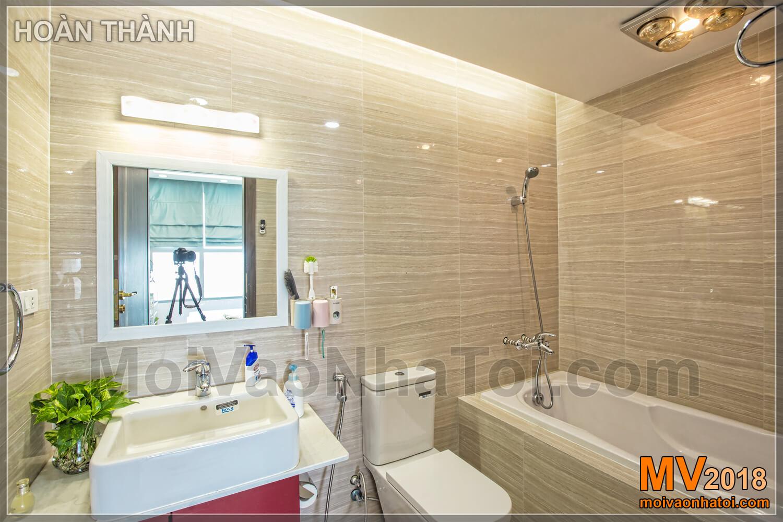 luxury bathrooms in Vinhomes Gardenia apartment