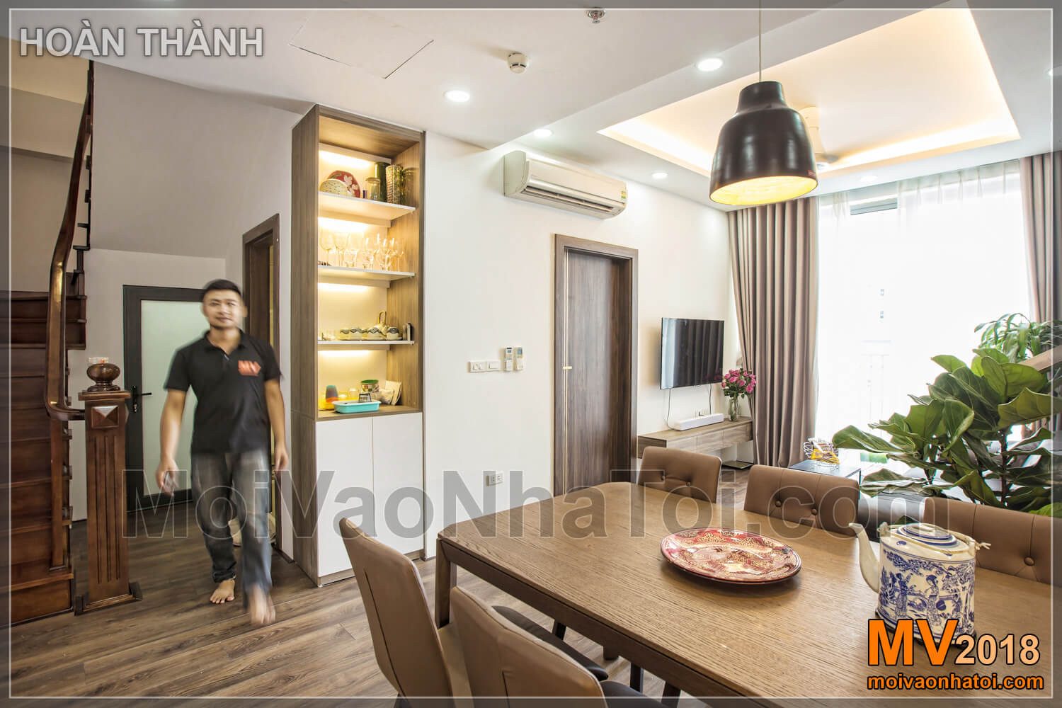 access to 2nd floor after construction of Vinhomes Gardenia apartment