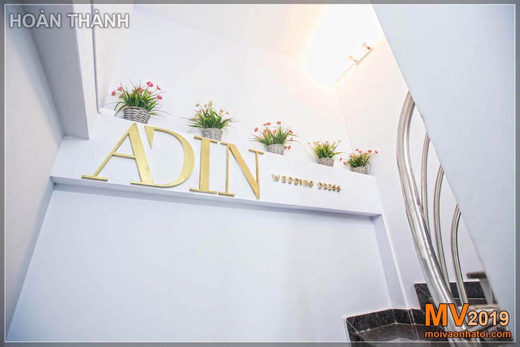 Wedding dress showroom design