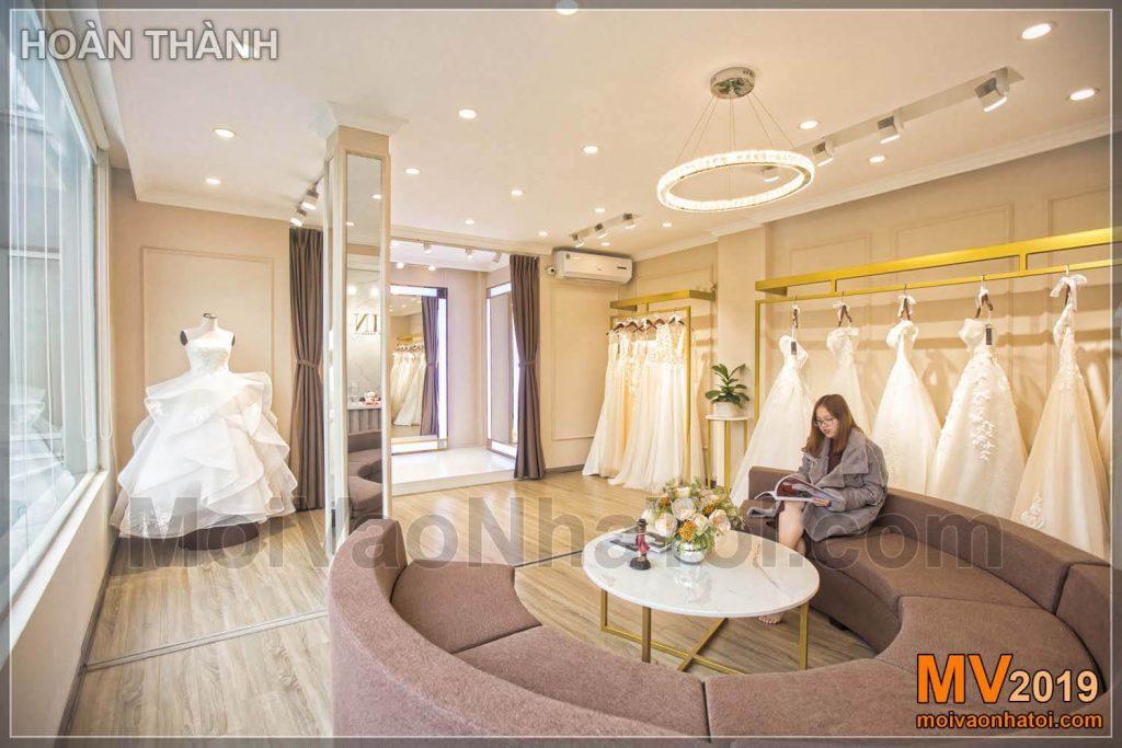 Hochzeitskleid Showroom Design