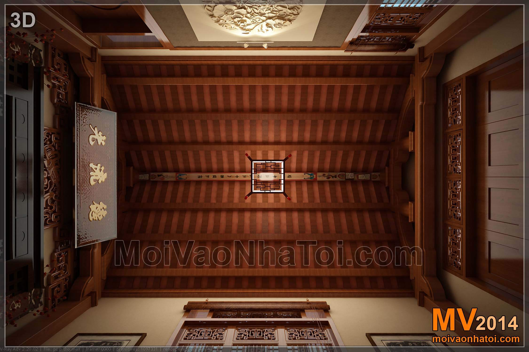 Earthly ceiling designs classic villa