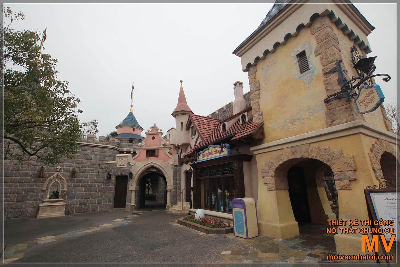 thiết kế kiến trúc các lâu đài - biệt thự cổ Châu Âu