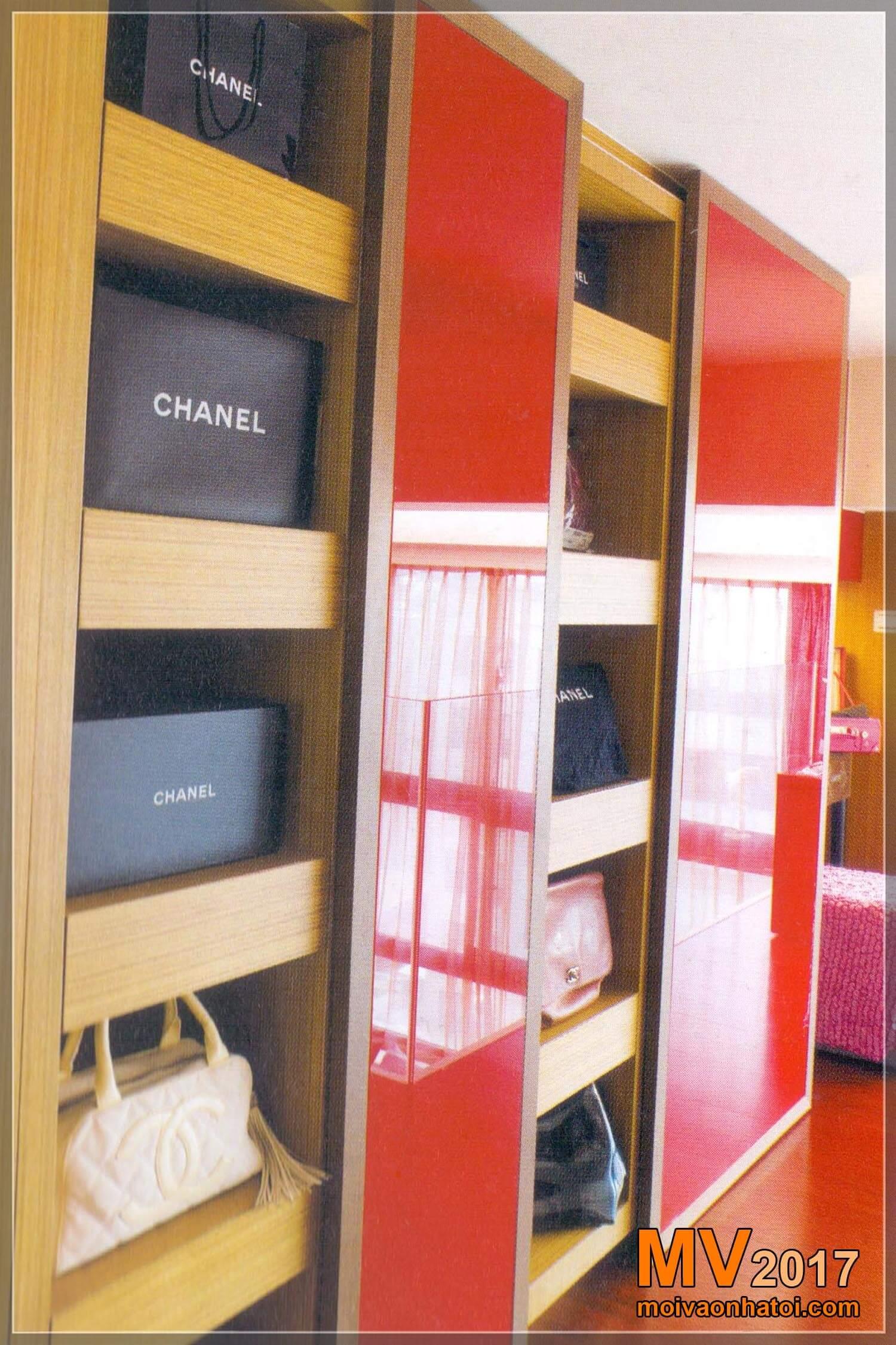 các mẫu tủ quần áo đẹp chung cư
