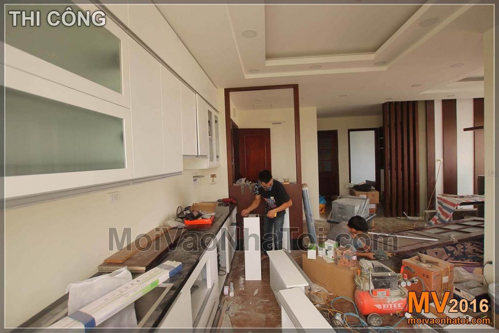 IMPROVING VIET HUNG RESIDENT KITCHEN GUESTS