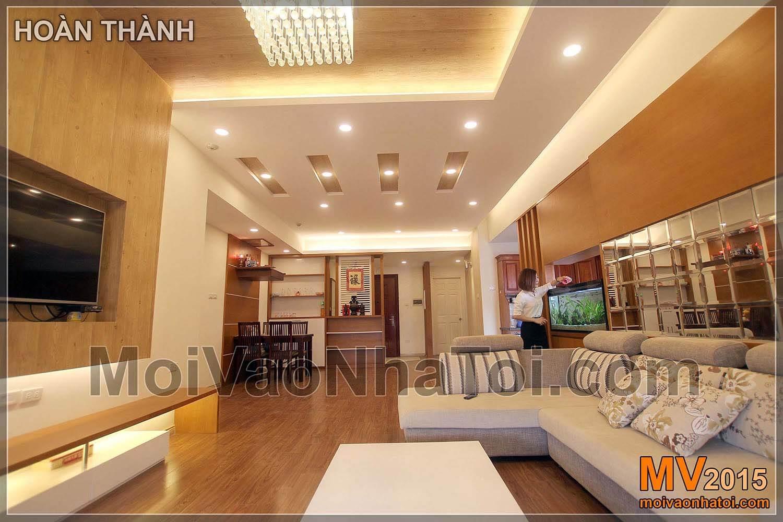 Nguyen Duc Canh byt obývací pokoj