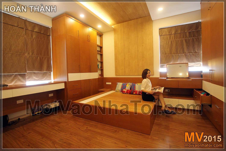 rodičovská ložnice kompletní bytový dům Nguyen Duc Canh