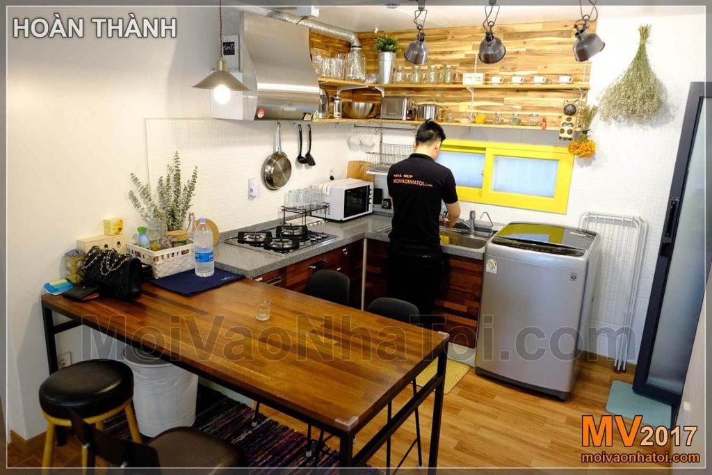 bếp Homestay thiết kế homestay