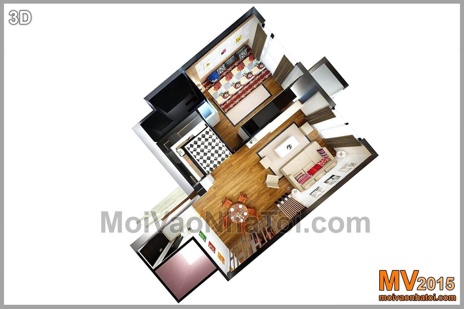 3d Bodendesignwohnung T8 Times City