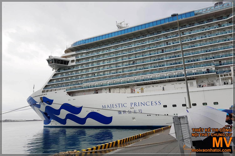 Du thuyền Princess Cruises 5 sao