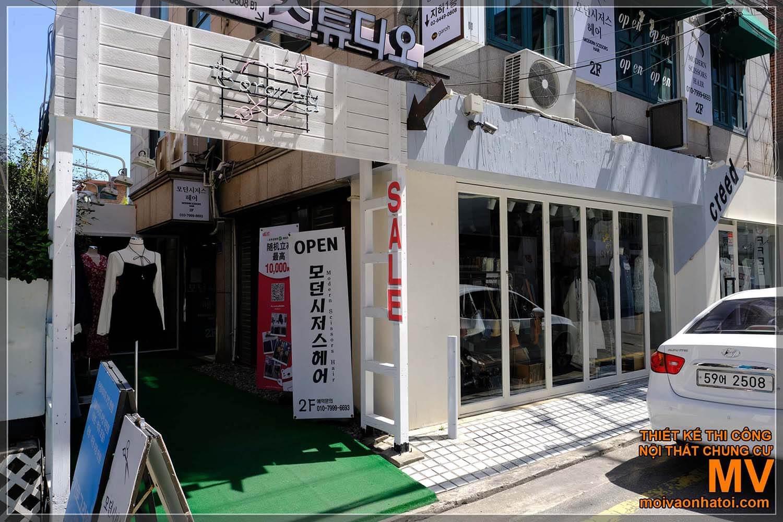 OBCHOD PENÍZE, KRÁSNÝ OBCHOD V KOREA