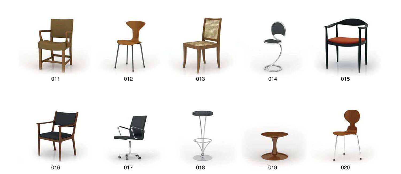 Single seat office furniture