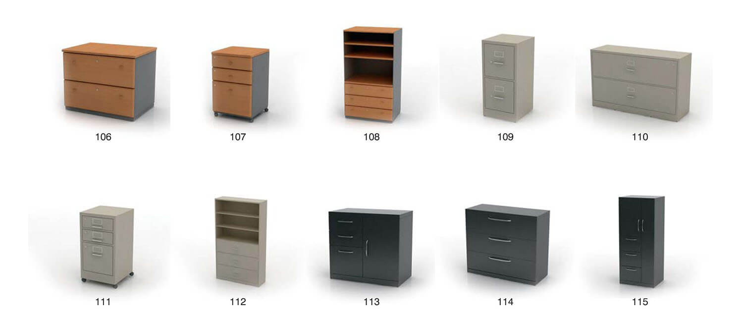 Document cabinet, office furniture