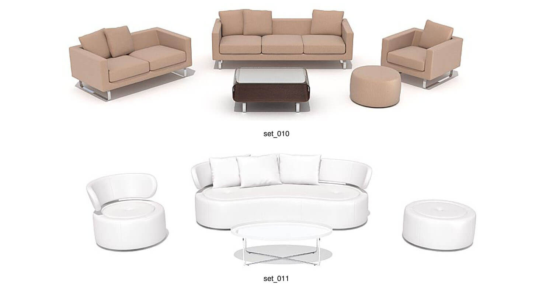 các mẫu bàn ghế sofa phòng khách hiện đại, sang trọng