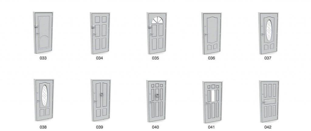 mẫu cửa phòng